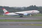 ANA744Foreverさんが、成田国際空港で撮影したオーストリア航空 777-2Q8/ERの航空フォト(写真)