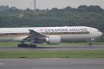 ANA744Foreverさんが、成田国際空港で撮影したシンガポール航空 777-312/ERの航空フォト(写真)