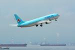 パンダさんが、中部国際空港で撮影した大韓航空 737-8Q8の航空フォト(飛行機 写真・画像)
