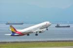 パンダさんが、中部国際空港で撮影したアシアナ航空 A321-231の航空フォト(飛行機 写真・画像)