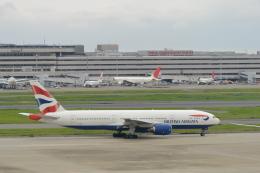 こずぃろうさんが、羽田空港で撮影したブリティッシュ・エアウェイズ 777-236/ERの航空フォト(飛行機 写真・画像)