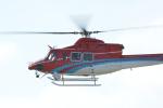 パンダさんが、小松空港で撮影した石川県消防防災航空隊 412EPの航空フォト(飛行機 写真・画像)
