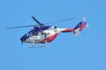 パンダさんが、岐阜基地で撮影した岐阜県防災航空隊 BK117B-2の航空フォト(写真)