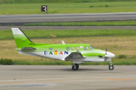 パンダさんが、名古屋飛行場で撮影した大安建設 C90A King Airの航空フォト(写真)