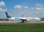 すしねこさんが、成田国際空港で撮影した全日空 767-381/ER(BCF)の航空フォト(写真)