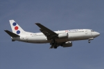 JPN Spotterさんが、フランクフルト国際空港で撮影したJAT航空 737-3H9の航空フォト(写真)