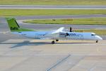 Tomo-Papaさんが、ウィーン国際空港で撮影したエア・バルティック DHC-8-402Q Dash 8の航空フォト(写真)
