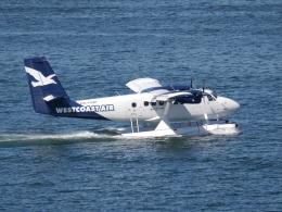 こしたくさんが、バンクーバー・ハーバー・ウォーター空港で撮影したウェスト・コースト・エア DHC-6-100 Twin Otterの航空フォト(飛行機 写真・画像)