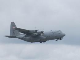 どっかの人さんが、横田基地で撮影したアメリカ空軍 C-130 Herculesの航空フォト(飛行機 写真・画像)