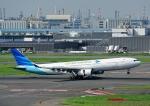 じーく。さんが、羽田空港で撮影したガルーダ・インドネシア航空 A330-341の航空フォト(写真)