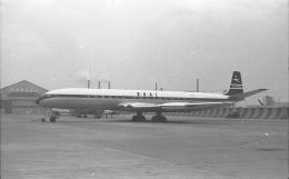 Pathfinder_2112さんが、羽田空港で撮影したブリティッシュ・オーバーシーズ・エアウェイズ (BOAC) DH.106 Comet 4の航空フォト(飛行機 写真・画像)