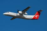 たーげっとさんが、ブリスベン空港で撮影したカンタスリンク DHC-8-315Q Dash 8の航空フォト(飛行機 写真・画像)