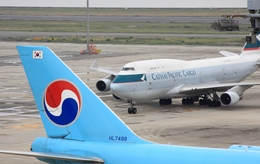 jinopekoさんが、関西国際空港で撮影したキャセイパシフィック航空 747-412(BCF)の航空フォト(飛行機 写真・画像)