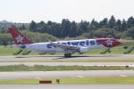 ANA744Foreverさんが、成田国際空港で撮影したエーデルワイス航空 A330-223の航空フォト(写真)