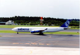 リョウさんが、成田国際空港で撮影したサベナ・ベルギー航空 A340-311の航空フォト(飛行機 写真・画像)