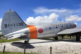 たまさんが、米子空港で撮影した航空自衛隊 C-46A-50-CUの航空フォト(飛行機 写真・画像)