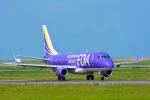 パンダさんが、新潟空港で撮影したフジドリームエアラインズ ERJ-170-200 (ERJ-175STD)の航空フォト(飛行機 写真・画像)