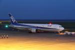 はるさんが、山口宇部空港で撮影した全日空 767-381/ERの航空フォト(写真)