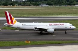 JPN Spotterさんが、デュッセルドルフ国際空港で撮影したジャーマンウィングス A320-211の航空フォト(飛行機 写真・画像)