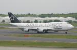 SKYLINEさんが、成田国際空港で撮影したルフトハンザドイツ航空 747-430Mの航空フォト(写真)