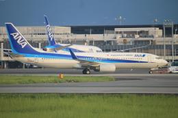 スターアライアンスKMJ まいやんさんが、熊本空港で撮影した全日空 737-881の航空フォト(飛行機 写真・画像)