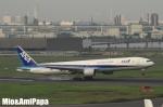 mio&amiパパさんが、羽田空港で撮影した全日空 777-381の航空フォト(飛行機 写真・画像)