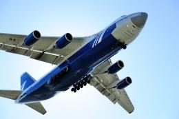 じーく。さんが、トゥールーズ・ブラニャック空港で撮影したポレット・エアラインズ An-124-100 Ruslanの航空フォト(写真)