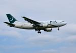 mojioさんが、成田国際空港で撮影したパキスタン国際航空 A310-325/ETの航空フォト(飛行機 写真・画像)