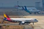 パンダさんが、関西国際空港で撮影したアシアナ航空 A320-232の航空フォト(飛行機 写真・画像)
