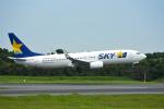 パンダさんが、成田国際空港で撮影したスカイマーク 737-8FZの航空フォト(写真)