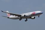 SKYLINEさんが、成田国際空港で撮影したチャイナエアライン A330-302の航空フォト(飛行機 写真・画像)