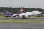 ANA744Foreverさんが、成田国際空港で撮影したタイ国際航空 747-4D7の航空フォト(写真)