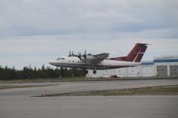ilv583さんが、イエローナイフ空港で撮影したエア・ティンディの航空フォト(飛行機 写真・画像)