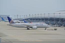 mickeyさんが、関西国際空港で撮影したユナイテッド航空 787-8 Dreamlinerの航空フォト(写真)