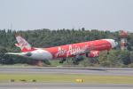ANA744Foreverさんが、成田国際空港で撮影したタイ・エアアジア・エックス A330-343Eの航空フォト(飛行機 写真・画像)