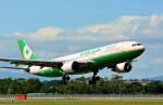 Dojalanaさんが、函館空港で撮影したエバー航空 A330-203の航空フォト(飛行機 写真・画像)