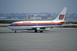 Gambardierさんが、ジェネラル・ミッチェル国際空港で撮影したユナイテッド航空 737-291/Advの航空フォト(飛行機 写真・画像)