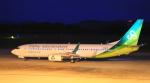 ふじいあきらさんが、広島空港で撮影した春秋航空日本 737-86Nの航空フォト(飛行機 写真・画像)