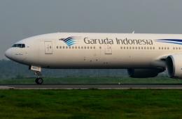 RUSSIANSKIさんが、クアラナム国際空港で撮影したガルーダ・インドネシア航空 777-3Q8/ERの航空フォト(写真)