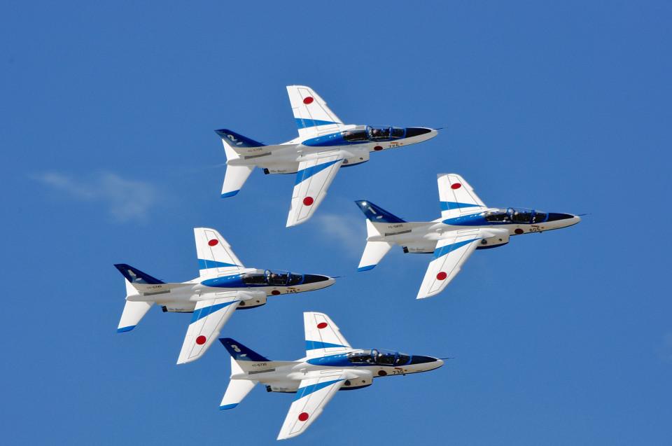 NALUさんの航空自衛隊 Kawasaki T-4 (46-5730) 航空フォト