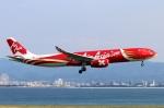 青春の1ページさんが、関西国際空港で撮影したエアアジア・エックス A330-343Eの航空フォト(写真)