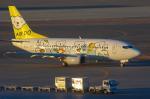 岳南航空さんが、新千歳空港で撮影したAIR DO 737-54Kの航空フォト(写真)