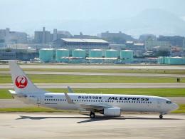 wrbluebl5さんが、伊丹空港で撮影したJALエクスプレス 737-846の航空フォト(飛行機 写真・画像)