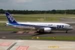 JPN Spotterさんが、デュッセルドルフ国際空港で撮影した全日空 787-8 Dreamlinerの航空フォト(写真)