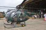 パンダさんが、下総航空基地で撮影した陸上自衛隊 OH-6Dの航空フォト(写真)