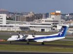 あしゅーさんが、伊丹空港で撮影したANAウイングス DHC-8-402Q Dash 8の航空フォト(飛行機 写真・画像)