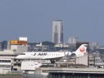あしゅーさんが、伊丹空港で撮影したジェイ・エア CL-600-2B19 Regional Jet CRJ-200ERの航空フォト(飛行機 写真・画像)