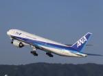 あしゅーさんが、伊丹空港で撮影した全日空 777-281の航空フォト(飛行機 写真・画像)