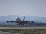 あしゅーさんが、関西国際空港で撮影したタイ国際航空 A380-841の航空フォト(飛行機 写真・画像)