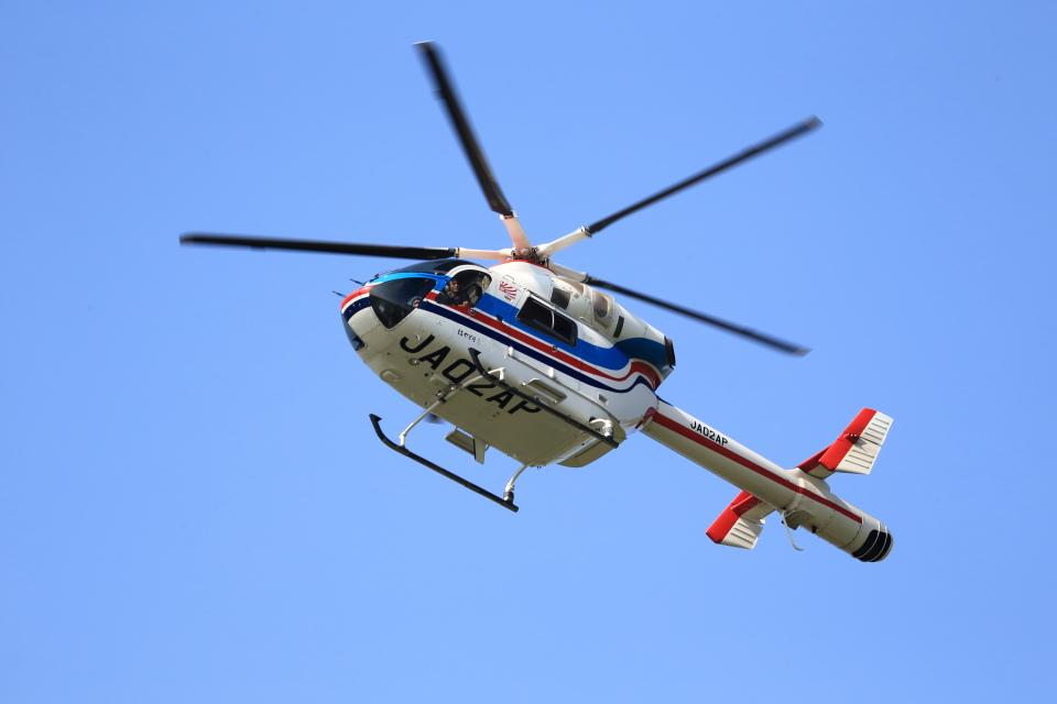 T.Sazenさんの朝日新聞社 MD Helicopters MD Explorer (JA02AP) 航空フォト